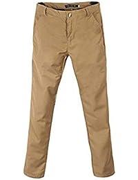6064e3b06a2c5 BoBoLily Pantalones De Traje De Hombres Pantalones De Negocios Pantalones  De Traje De Ocio Pantalones Casuales