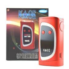 Preisvergleich Produktbild NEU- echtes SIGELEI KAOS SPECTRUM 230 WATT TC MOD-COLOR CHANGE LED nicht ALIEN / ROT / ROT / ROT ENFACH WONDERBAR / ROT