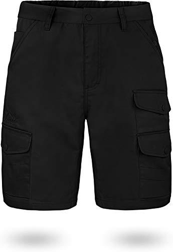 normani Kurze Bermuda Shorts US Army Ranger Feldhose/Arbeitshose S - XXXL Farbe Schwarz Kebili Größe 7XL