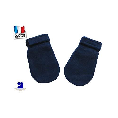 Poussin Bleu - Moufles polaire 0 mois-24 mois Made In France Couleur - Bleu, Taille - 86 cm 2 ans