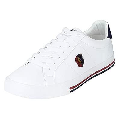Red Tape Men's Rte1755 White Sneakers-12 UK (46 EU) (RTE1755-12)