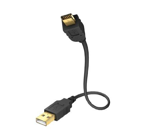 inakustik Premium High Speed USB 2.0 Kabel (USB 2.0A - mini B, 2m)