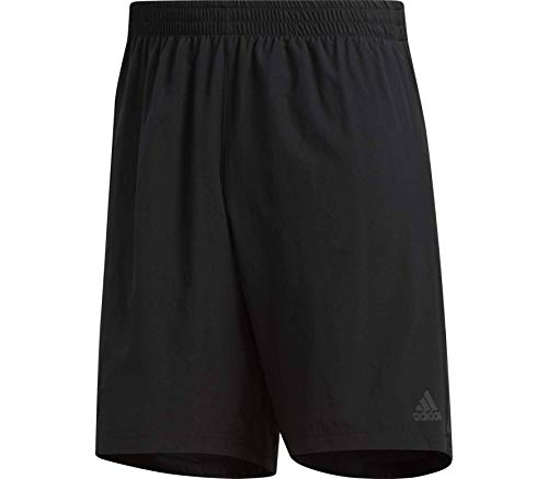 adidas Herren OWN The Run 2N1 Sport Shorts, Black, L/5 Zoll