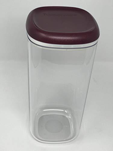 Tupper Tupperware Skyline glasklar luftdicht 1800ml 1,8 Liter Kaffeedose Vorrat Eleganzia Exklusiv Clear Collection lila Glitzer