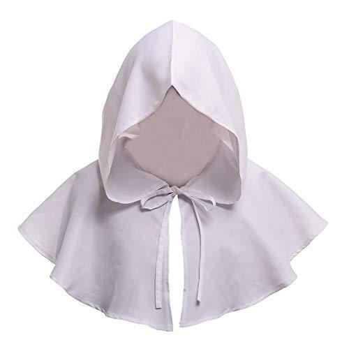Shawl Heißer Halloween-Kostüm-Todesmantel Medieval Hat Cloak Adult ()