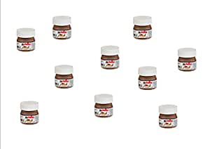 Ferrero nutella petits pots de nutella lot de 10 x 25 gr cuisine maison - Petit pot de nutella ...