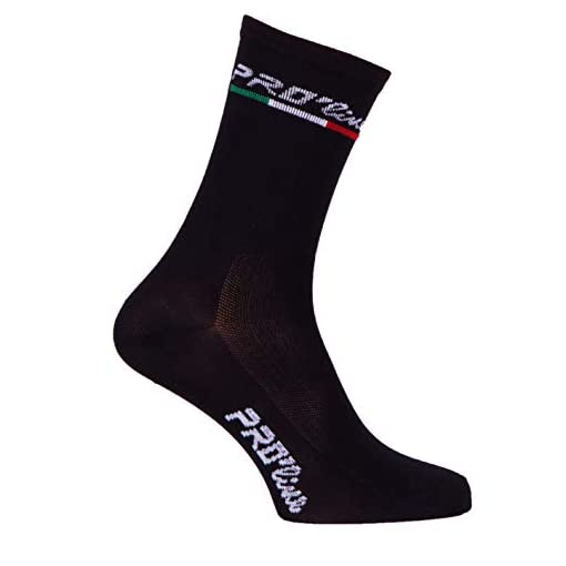 PROLINE- Calzini Ciclismo Nero all Black