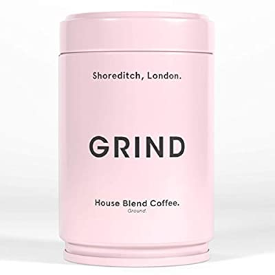 Grind Organic Coffee, House Blend, Ground Coffee (227g Tin) by Grind