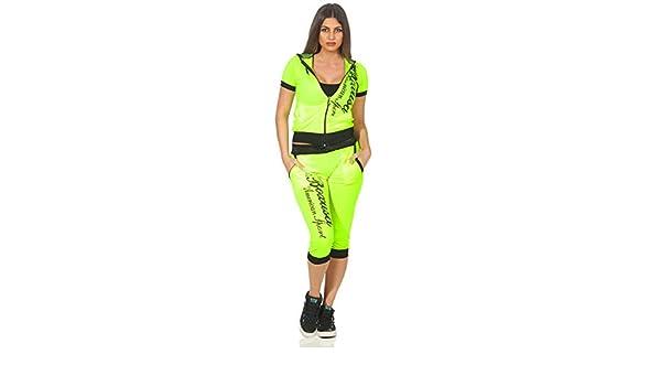 Damen Jogging Anzug Sportanzug Trainingsanzug Trainingsjacke Jogginganzug 1815