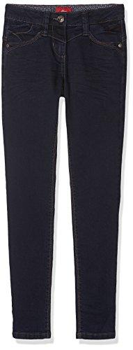 s.Oliver Mädchen Jeans 66.709.71.2999 Blau (Blue Denim Stretch 59Z8), 134 (Herstellergröße: 134/SLIM)