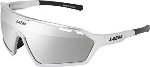 Lazer Walter Brille, Gloss Silver Chrome, One Size