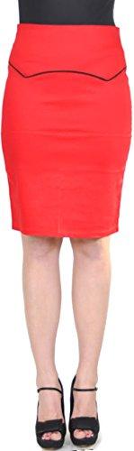 KÜSTENLUDER Bloody 50s PIN UP Pencil Skirt Rockabilly