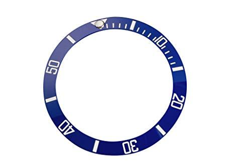 Seiko Skx007en céramique Cadre Insert 38mm-Bleu