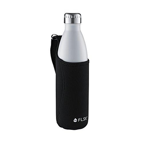 Preisvergleich Produktbild FLSK Neoprentasche für 750ml Isolierflasche, schwarz