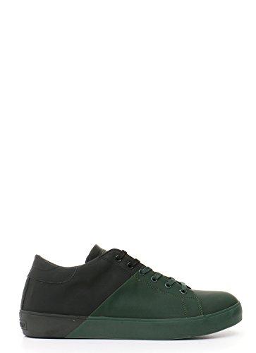 Leather Crown Sneakers Uomo Mcbi185013o Pelle Nero Verde usato Spedito  ovunque in Italia f78128bfcdd