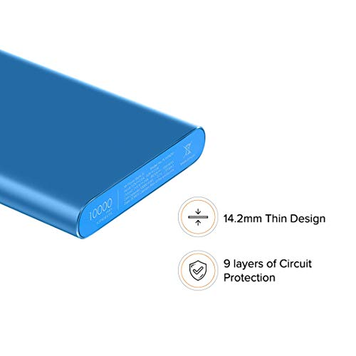 Mi 10000mAH Li-Polymer Power Bank 2i (Blue) with 18W Fast Charging Image 4