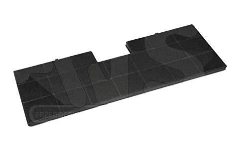 Carbonfilter/Kohlefilter FW-6/FWK-485 für Dunstabzugshaube Amica OTC6413l (485x170x10) - Dunstabzugshaubenzubehör