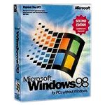 Microsoft Windows 98 Second Edition Betriebssystem DSP S