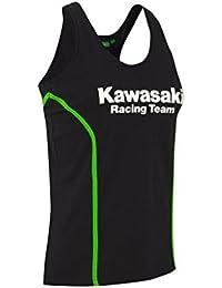 Kawasaki KRT Tank Top para mujer 177spm077 – de motocicleta de jank chiste negro negro talla media/grande