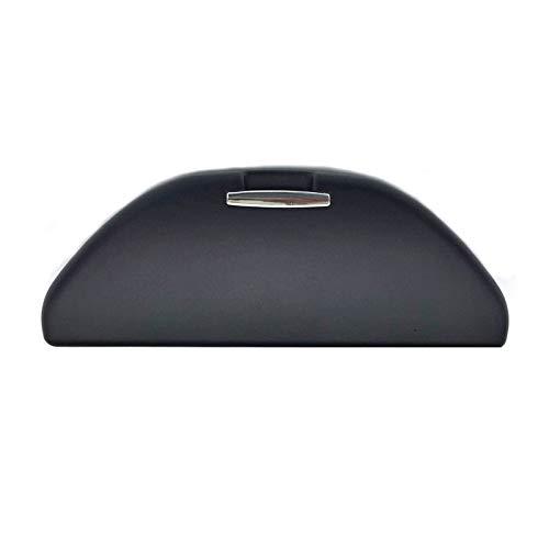 Geändert Auto Sonne Brille Box Sonnenbrillenetui Halter Lager Auto Dach Sonnenbrille Griff Passt für VW Polo 6R for Skoda Rapid Octavia (Schwarz Brillenetui)