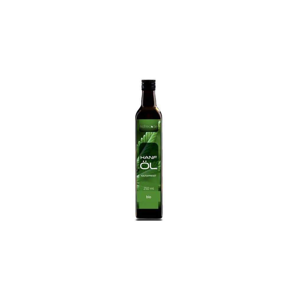 Natrea Bio Hanfl Rein Nativ Kaltgepresst Aus 1 Pressung 100 Reines Bio L In 250 Ml Lichtschutzflasche 1 X 025 L