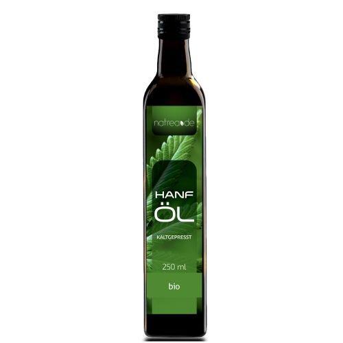 Natrea Bio Hanföl rein nativ | kaltgepresst aus 1. Pressung  100% reines BIO-Öl  in 250 ml...