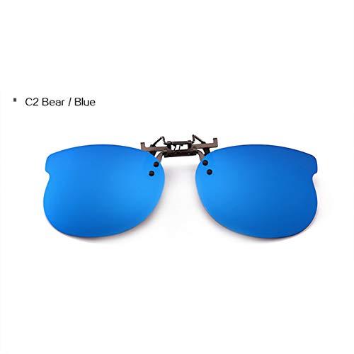 GJYANJING Sonnenbrille Kids Polarized Clip Sonnenbrille Jungen Mädchen Brille Nette Sonnenbrille Mode Objektiv Clip Auf Myopie Brille Für Kinder Uv400