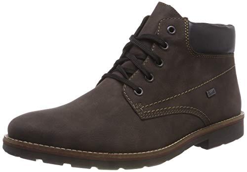 Rieker Herren 35320 Klassische Stiefel, Braun (Moro/Schwarz 25), 44 EU
