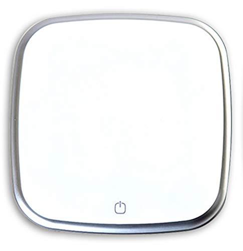 ZUKN Coche purificador de Aire portátil de Viaje Auto Limpiador de Aire con Adaptador sedán Aire ambientador Eliminar Olor Olor bacterias,White