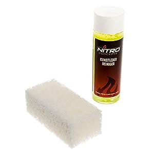 Nitro Concepts Piel PU – detergente con Esponja – 100ml