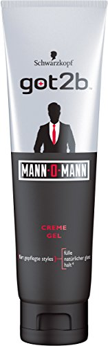 got2b Mann-O-Mann Gel-Tube, 1er Pack (1 x 150 ml)