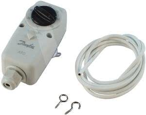 Thermostats Danfoss Electro-Mechanical ATC Cylinder Stat with Fixing Strap
