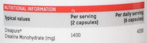 31CQaAQH04L - PhD Nutrition Creapure Creatine, 90 Capsules