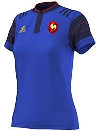 FFR H JSY W MAR - Maillot Rugby FFR Femme Adidas