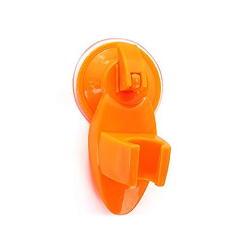 LouiseEvel215 Starke Saugnapf Dusche Befestigung Basis Duschkopf Halter Rack Halterung Praktische Duschdüsenständer Badzubehör (Halter Duschkopf Halterung)