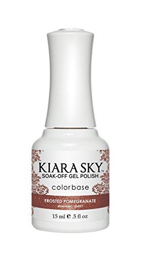 Kiara Sky Gel Polish 15ml-Frosted Granatapfel G457 -