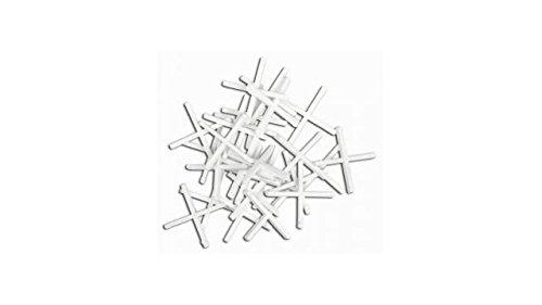 Topex 16B520 - Pack de 200 crucetas separadoras para azulejos (2 mm)