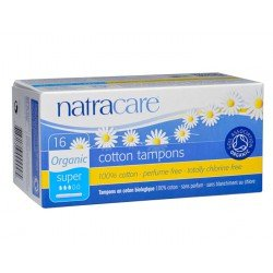 Natracare 9002 Bio alle Baumwolle Tampons mit Applikator 16 Count -