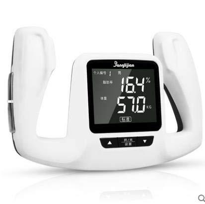 ZUEN Überwachungs-Digital-LCD-Fett-Analysator-Prüfvorrichtung, die den Kalorien-Rechner misst, um Gewicht-Körperfett-Messgerät mit Körper-Weiß zu verlieren