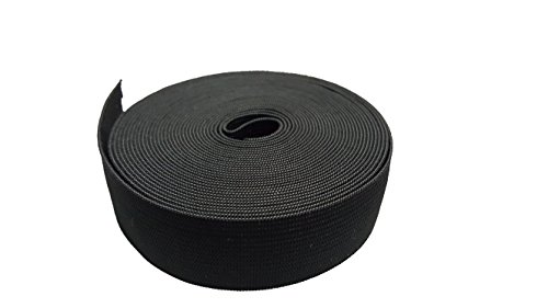 1-wide-5-meters-long-black-springy-stretch-knitting-elastic-band-spool-with-high-elasticity-by-hongx