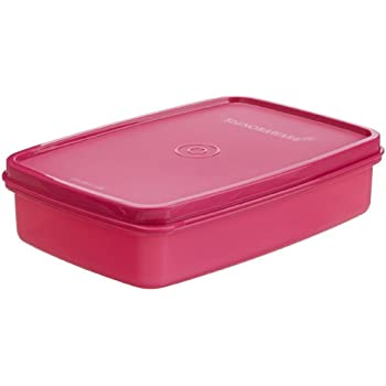 Signoraware Crispy Slim Small Box Container, Pink