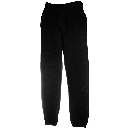 jogginghose-elast-bund-fruit-of-the-loom-s-m-l-xl-xxl-mschwarz