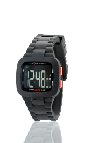 Sector Unisex Watch R3251272215 In Collection Street with Digital Display and Black Strap