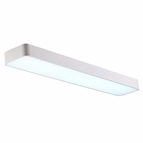 Silamp - Réglette LED 38W 120cm Suspendue BLANC - couleur eclairage : Blanc Froid 6000K - 8000K