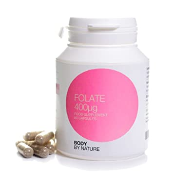 Body By Nature vitamins, Supplements, Methylfolate Folate 60 Capsules, The NEW Folic Acid, for pregnant women, If you are thinking of buying Folic Acid. Would you really consider buying the CHEAPEST bottle? by Body By Nature supplements