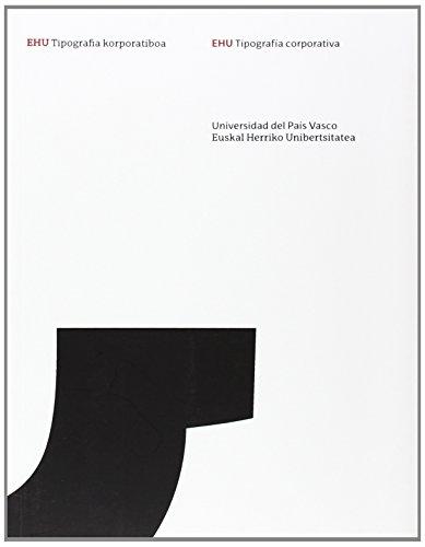 EHU Tipografia korporatiboa / EHU Tipografía corporativa