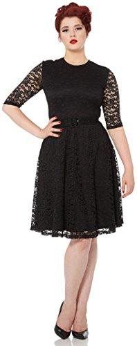 Voodoo Vixen Kleid MARIE DRESS 8128 Schwarz S