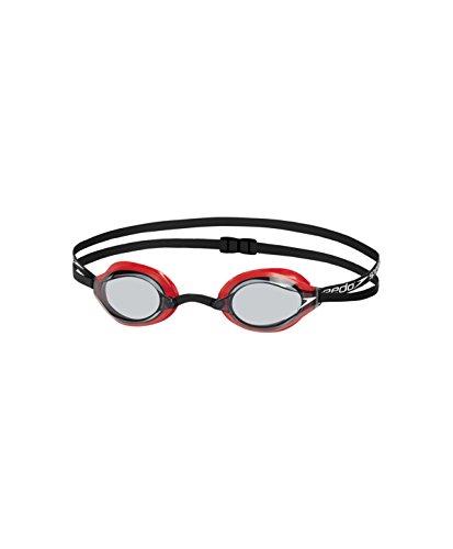 Speedo Fastskin Speedsocket 2 Gafas de Natación, Unisex Adulto, Rojo Lava/Humo, Talla Única