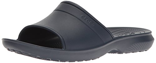 Crocs classic slide, ciabatte unisex – adulto, blu (navy), 39/40 eu