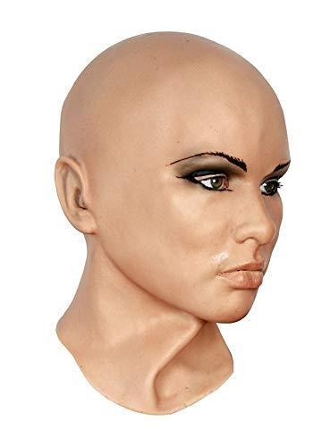 MW Gesichtsmaske Diva Deluxe Schaumlatex Maske - Universalgröße